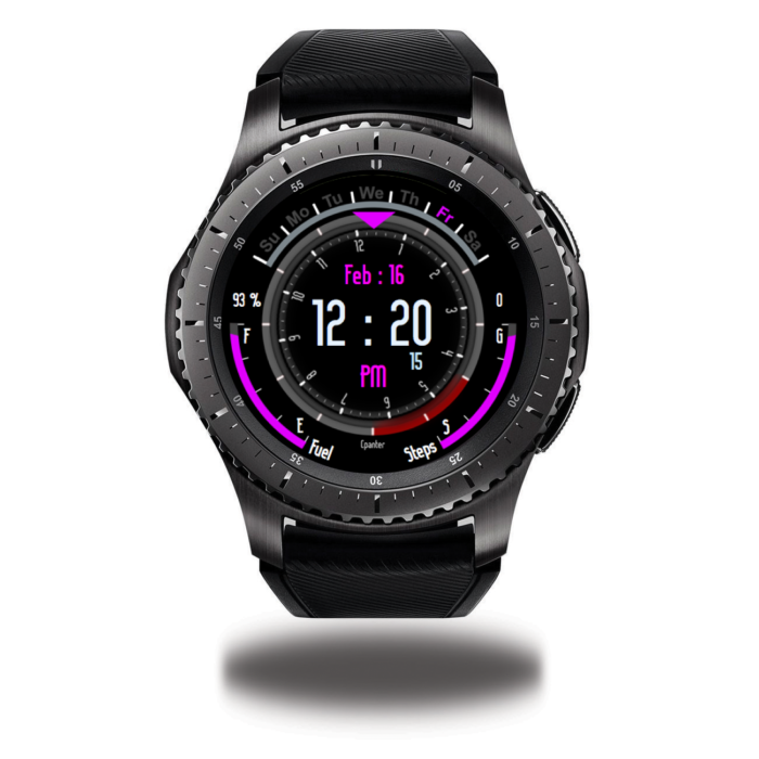 X-Speedometer Purple